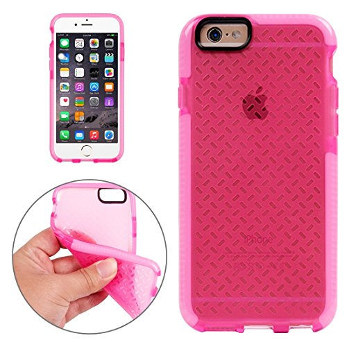 JING Pour iPhone 6 / 6s, Rice Grains Pattern TPU Housse de protection ( Color : White ) Pink