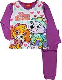 Nickelodeon Paw Patrol Niñas Pijamas Largos / Ropa De Dormir.
