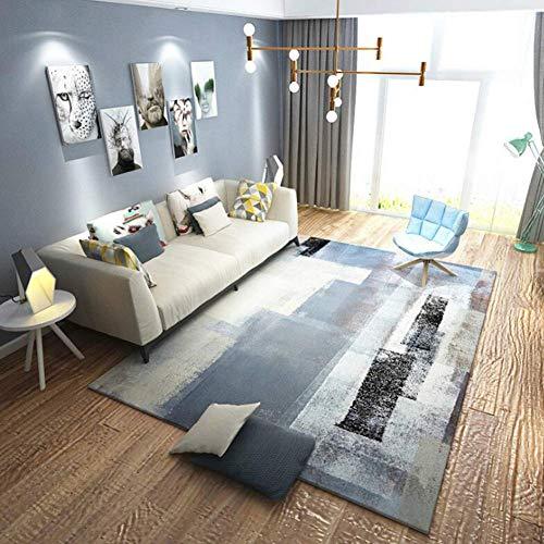 Aishankra Anti Rutsch Teppich Europäischen Stil Bereich Teppiche Persönlichkeit Matratze,4,6'6''X9'8''/200X300CM (8 Ft Runde Bereich Teppich)