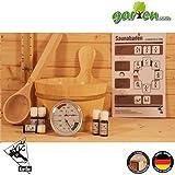 Saunazubehör Set A (11 teilig)