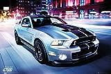 Empire merchandising 657718 de coches - Ford Shelby GT500 2014 - Póster de coche de cartel de - gran 91,5 x 61 cm