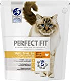 Perfect Fit Sensitive - Croquettes pour Chat Adulte Sensible Stérilisé, Riche en Dinde, 4 Sacs de 1,4kg