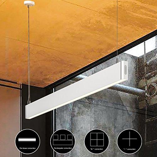 Lámpara LED suspendida de 36W y altura ajustable hasta 150cm marca KLARS