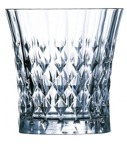 Cristal d´Arques- Lady Diamond Whisky 270ml, sin la marca de llenado,