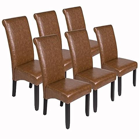 Esszimmerstühle 6er Set Sanzaro Stühle Küchenstühle Polsterstühle Stuhlgruppe