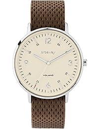 La hora del reloj Seulement des hommes Brosway WVO02 Brun
