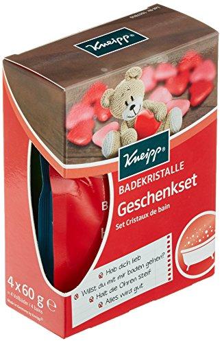 Kneipp Badekristalle Geschenkset, 2er Pack (2 x 240 g)