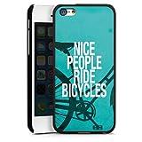 Apple iPhone 5c Coque Étui Housse Nice People Ride Bicycles