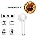 #9: Lambent I7 Mini Bluetooth Earbud Single Wireless Invisible Headphones With Mic bluetooth Earphone (1 year Warranty)