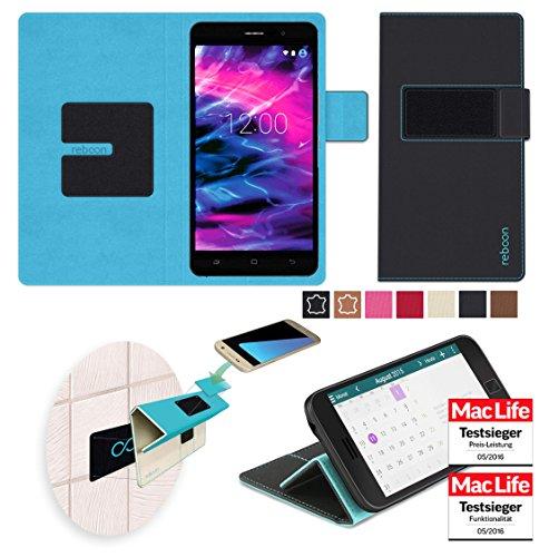Hülle für Medion Life X5020 Tasche Cover Case Bumper | Schwarz | Testsieger