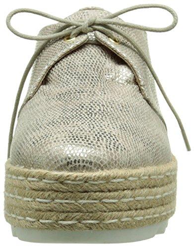 Donna Piu Marina, Chaussures lacées femme Or (Dory Camel)