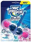 WC Frisch Kraft-Aktiv Blauspüler Blüten-Frische Paket, 50 g
