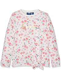 Tom Tailor Flower Patterned Knot, Sweat-Shirt Fille