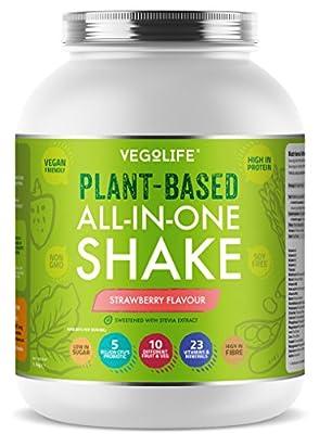 Vegan Protein Powder - Plant Based All-in-One Vegan Shake by Vegolife