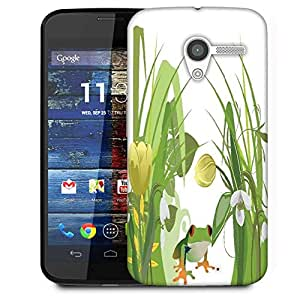 Snoogg Abstract Illustration With Lots Of Beautiful Flowers Designer Protective Phone Back Case Cover For Moto X / Motorola X