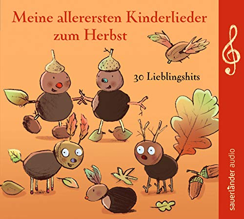Meine allerersten Kinderlieder zum Herbst: 30 Lieblingshits