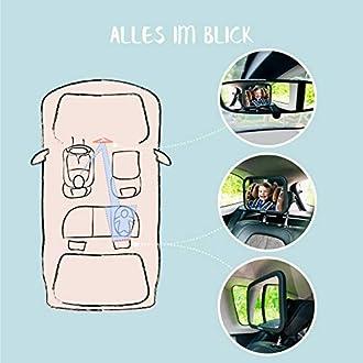 Rücksitzspiegel für Baby Bild