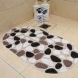 PVC-matte Duscheinlagen Badezimmer Badezimmer matte plastic Mat 39 x 69 cm