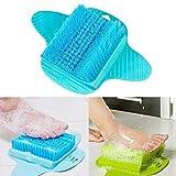 Spazzola pulizia piedi BESTOMZ Spazzola da doccia a ventosa per pedicure (Colore casual) immagine