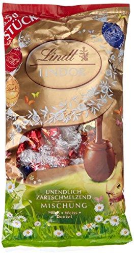 Preisvergleich Produktbild Lindt & Sprüngli Lindor Mischbeutel Doppel,  2er Pack (2 x 236 g)