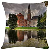 Canmore - World- #35134 - Plush Cushion Covers Throw Pillowcases Super Soft Fashion Simple Decorative Pillowcases 18x18