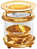 #10: Borosil Medium Brass Diffuser (Multicolour)