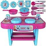 TW24 Disney Kinderküche - Kinderspielküche - Kinder Küchenspielzeug - Spielküche klein Frozen
