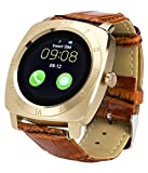 Reach Allure Speed Compatible Bluetooth Smartwatch with SIM Card Support   Android 5.1 OS   Facebook   Whatsapp   Activity Tracker   Fitness Band   Music   Camera with Video Recording   Micro SD card Support by JIKRA