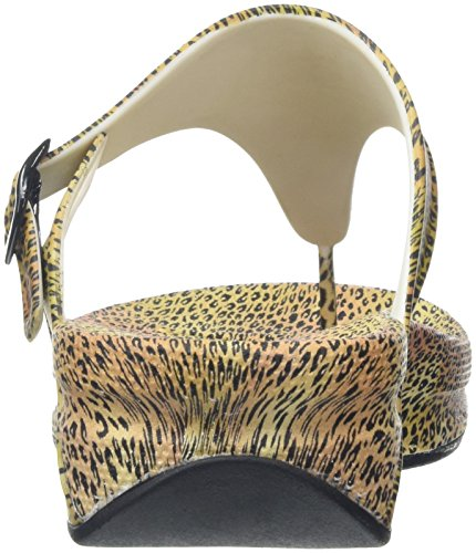 Fitflop Superjelly Leopard, Chaussures Femmes Multicolores (cheetah)