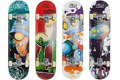 HUDORA Skateboard Instinct ABEC 1 - 12161