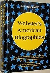 Webster's American biographies