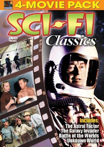 Bild von Sci-Fi Classics: The Astral Factor/The Galaxy Invader/Battle of the Worlds/Unknown World by Rod Taylor