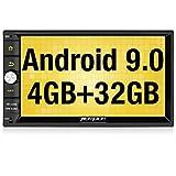 Pumpkin Android 9.0 Autoradio GPS 2 Din Ecran 7 Pouce RAM: 4 Go, ROM: 32 Go supporte...