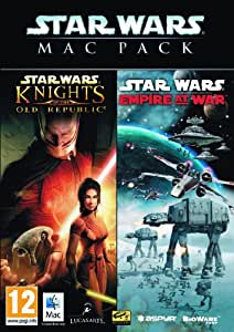 Star War Mac pack : Empire at War + Knights of the Old Republic [import anglais]