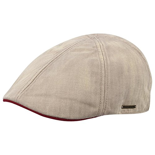 stetson-mtze-kappe-used-texas-schirmmtze-flatcap-schiebermtze-l-58-59-beige