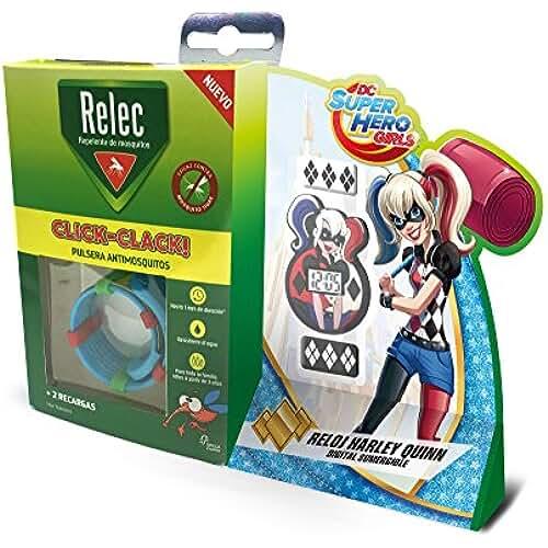 Relec Pulsera Antimosquitos Harley Quinn - 1 Unidad
