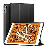 laxikoo iPad Mini 5 Hülle, Ultradünne iPad Mini 5 Schutzhülle mit Automatischem Schlaf/Aufwach Anti-Fall PU Leder Smart Case Cover Hülle für Apple iPad Mini 5 2019 7.9 Zoll