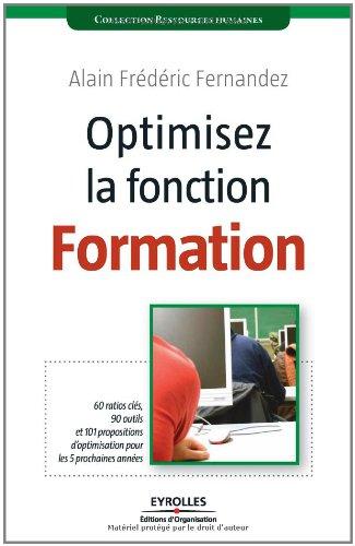Optimisez la fonction Formation par Alain-Frédéric Fernandez