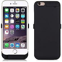 """ZOGIN Funda Batería iphone 6 plus / 6s plus, 10000mAh Funda Protectora Cargador / Funda de Batería Integrada Recargable de Alta Capacidad para iPhone 6 plus / 6s plus 5.5"""", Color Negro"""