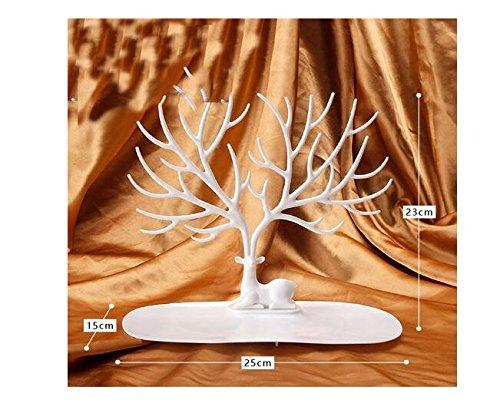 Anillos-collar-adorno-Sika-ciervos-rbol-joyas-pantalla-soporte-bastidor-para-colgar-organizador-rack-Torre