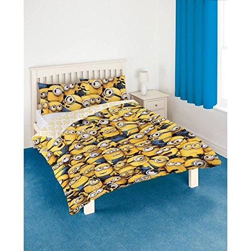 Despicable Me Minions Sea of Minions Doppel Kinder Bettdecke Bettbezug Set 200 x 200cm 100% MICROFASER