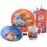 Creatable, 15727, Cars Breakfast Set, Multi-Colour,  3-Piece