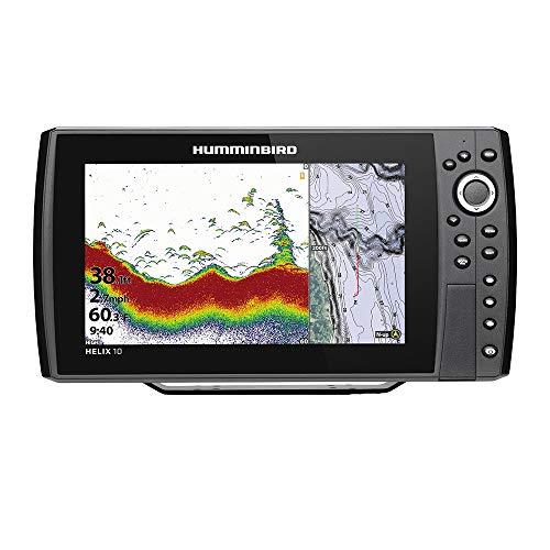 Humminbird Helix 10 Chirp Ds GPS G3N 410870-1 1 Humminbird Fishfinder