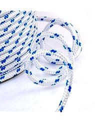 30m blanc corde polypropylene poly cordage 5mm - plusieurs tailles et couleurs