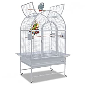 Montana Cages | Papageienkäfig Manhattan - Platinum Der klassische Käfig für Papageien