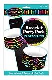 Melissa and Doug Bracelets Scratch Art Party Pack, Multi Color