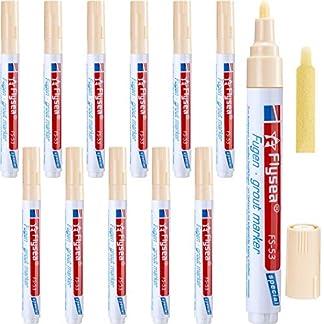 12 Piezas de Bolígrafo de Lechada de Rejuvenecer Pluma de Reparación para Azulejos Pared Suelo