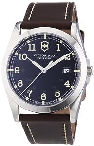 Reloj Victorinox Swiss Army 241563 de cuarzo para hombre con correa de piel, color marrón de Victorinox
