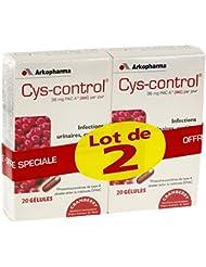 Pharmacie Du Prado - Cys Control Lot 2X20Gel