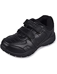 TWIN GS-6011 Batchmate Children Uniform School Shoe Gola Black - for Boys and Girls